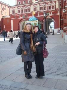 Албена Декова и Лариса Литвинова Москва 2013г.