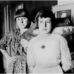 М. и А. Цветаевы. Феодосия, 1914 год