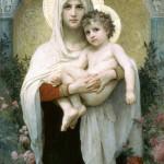 Адольф Вильям Бугро (1825 – 1905). Мадонна с розами, XIX век