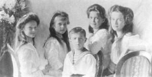 Дети Николая II и Александры Фёдоровны