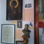 бюст святого Иоанна Кронштадского в музее