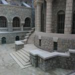 внутренний дворик грязелечебницы