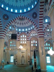 в мечети Сердце Чечни
