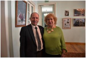 А.Крохин и Е.Мерцалова (Аристова)