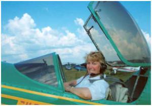 Х.Х. Макагонова -абсолютная чемпионка мира по самолётному спорту