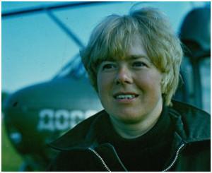 Летчик-инструктор Маслова Т.В. Фото из личного архива Масловой Т.В.