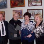 С давними друзьями. Рядом со мной - Тамара Колина,  справа Ольга Мастяева