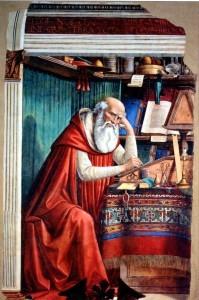 «Святой Иероним». Гирландайо Д. 1480 г.