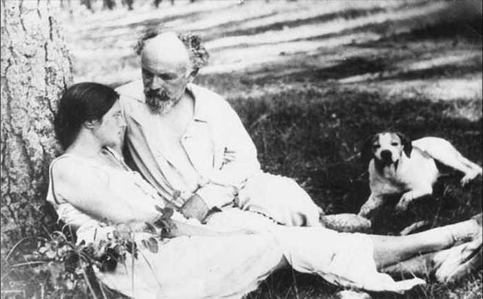 Михаил и Валерия Пришвины.