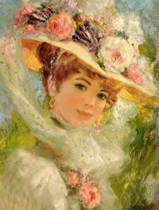 portret-damy-nachala-20-veka
