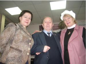 Н.А. Уретя, А. Крохин и Т.К. Афанасьева