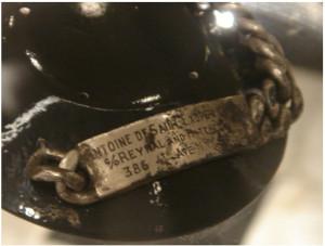 Серебряный браслет, принадлежавший Экзюпери