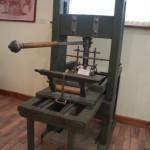 Первая печатная машина Николы Карастоянова