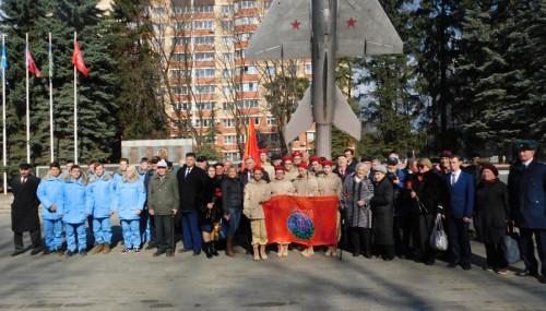 Митинг у Аллеи Героев в Г.Щёлково.