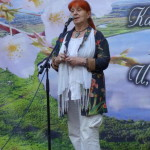 Надя Попова на Фатьяновском празднике