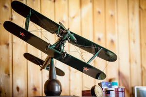 Модель самолёта ПО-2