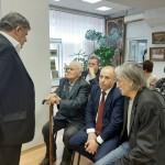 Слева направо: А. Тишков, В. Куракин, Н. Гречишников, В. Кузнецов