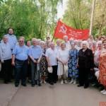 Лобненские ветераны с руководителями города.  2006 г.
