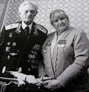 Супруги Г.С. Бельцов и Г.П. Брок-Бельцова 2004 год, город Щёлково