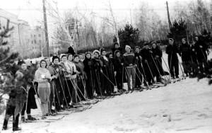 ЧВВАКУШ женские забеги на лыжах при Г.С. Бельцове